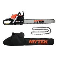 MYTEK Pack tronçonneuse - 60cm - 62cc + Chaîne et housse offertes