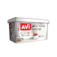 AVI Peinture murale Toutes pieces Blanc Satin, 2,5L