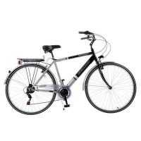 Vélo de ville 28' - Ficarius - Cadre acier - 6 vitesses - Freins Vbrake