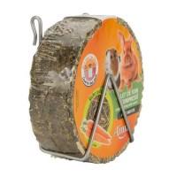 AIME Palet foin compressé a la carotte - Pour lapin et rongeur - 240g