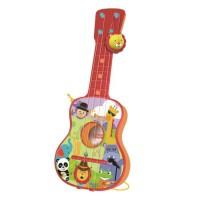 FISHER PRICE Guitare 4 cordes - Avec boîte plastique