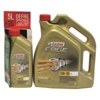 CASTROL Huile moteur Edge - 5W-30 LL 5+1L