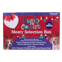ROSEWOOD Boîte de Noël cadeau avec 4 friandises viande - Pour chien - 175 g