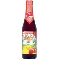 BRASSERIE HUYGHE Floris Fraise Biere Rouge aromatisée - 33 cl - 3,5 %