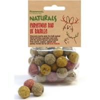 ROSEWOOD Friandise sacs de boules - Pour rongeur - 100 g