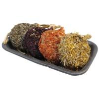 ROSEWOOD Friandise Rouleaux de Noël 4 pieces - Pour rongeur