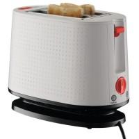 BODUM 10709-913EURO-3 Bistro Grille-pain électrique double fente - 940 W - Blanc creme