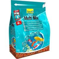 TETRA Aliment complet - Mix de 4 aliments variés - Tetra Pond Multimix - 4 L - Pour poisson de bassin