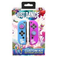 Just Dance Officiel - Housse de protection en silicone, anti-dérapante avec accessoires pour manette Nintendo Switch JoyCon