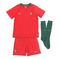 NIKE Mini Ensemble de football Maillot + Short + Chaussettes FPF 18 - Enfant garçon - Rouge