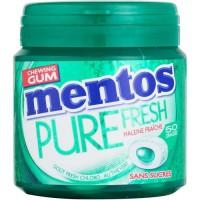 MENTOS GUM PURE FRESH Bottle de 50 dragées sans sucres - Fresh chloro