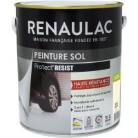 RENAULAC Peinture Sol Beige Roche - Satin - 2,5L - 35m² / pot