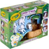 Crayola - Color'N'Wash - Mes Animaux a Colorier - Coffret Safari - Dessiner - Laver - Recommencer