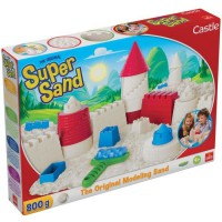 GOLIATH - Super Sand Castle - Loisir créatif - Sable a modeler - Be Creative