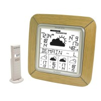 LA CROSSE TECHNOLOGY WD9005F-NAT Station météo Chene bronze - Beige