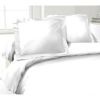 LOVELY HOME Lot de 2 Taies d'Oreillers 100% coton 50x70 cm - Blanc