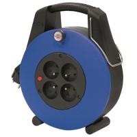 BRENNENSTUHL Enrouleur ménager 20 m Confort-Line CL-Xl bleu H05VV-F 3G1.0