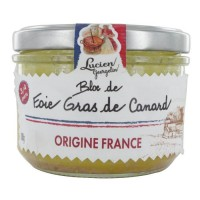 LUCIEN GEORGELIN Bloc de foie gras de canard - 180 g