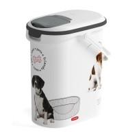 CURVER Verseuse a croquettes Love pets 4 Kg - Blanc - Pour chien