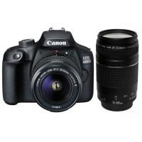 CANON EOS 4000D 18 Mpx + Objectif EF-S 18-55 III + EF 75-300 F/4-5,6 III