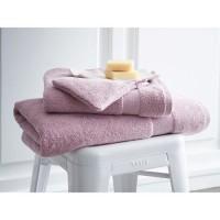 TODAY Drap de bain Premium - 100% coton 600 g/m²- 70 x 130 cm - Rose poudre de lila