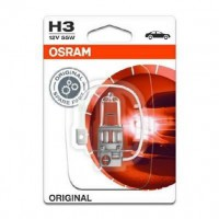 OSRAM Lampe de phare halogene Original H3