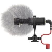 Microphone-caméra RODE Microphones VIDEO MIC MICRO avec câble, avec protection pare-vent