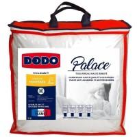 DODO Couette tempérée Percale Anti-Acariens PALACE - 220 x 240 cm - Blanc