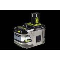 RYOBI 1 batterie lithium+ 18 Volts - 9,0 Ah