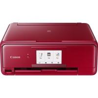 CANON Imprimante Multifonction 3 en 1 couleur PIXMA TS8152 - Jet d'encre - Rouge
