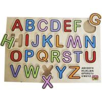 BSM Jeu d'encastrement ABC puzzle couleur - Mixte - Livré a l'unité