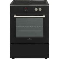 Cuisiniere Induction 60x60 3 Zones Multifonction catalyse - chaleur pulsée - timer- booster- grill - Classe A - four 65L - progr
