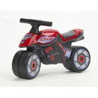 FALK Porteur Baby Moto X Racer - Rouge