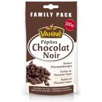 VAHINE Pépites Chocolat noir - Format familial - 200 g