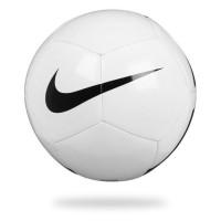 NIKE Ballon Football PITCH TEAM - Blanc - Taille unique