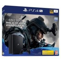 PS4 Pro 1To Noire + Call of Duty Modern Warfare