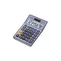 CASIO Calculatrice de bureau MS88TER II bleue
