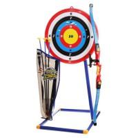 Set de tir a l'arc avec cible, arc, fleches et sac de rangement