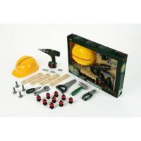 KLEIN - Set de bricolage Bosch avec visseuse électronique, 37 pieces