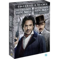 DVD Coffret Sherlock Holmes 1 et 2