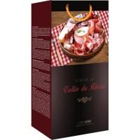 CLASSWINE Pochette pour 2 bouteilles vin des Côtes du Rhône Gastronomie