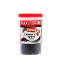 DUCROS Poivre noir - Grains nº 6 classique - Boite ménagere - 90 g