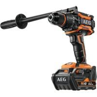 AEG POWERTOOLS Perceuse percu 18V Brushless 140 Nm, 2 x 6,0 Ah HD