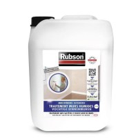 RUBSON Traitement anti-salpetre murs Humides intérieurs incolore 2,5 L