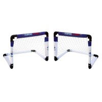 2 Minis Buts Cages Football Pliable FFF Equipe de France