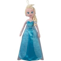 Jemini Disney Reine des Neiges peluche range pyjama elsa +/- 50 cm