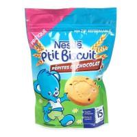 NESTLÉ P'tit Biscuit aux pépites de chocolat 150 g - Des 15 mois