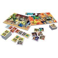 EDUCA - Coffret superpack Toy story 4 - 2 jeux éducatifs basiques et 2 puzzles