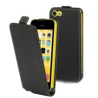 MUVIT Etui - Fin - Noir - Pour Apple Iphone 5c