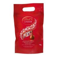 Confiserie de Chocolat Lindt Lindor Lait - Sachet 1Kg/800Boules